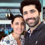 Sumit Kaul with his wife Ritu Kaul