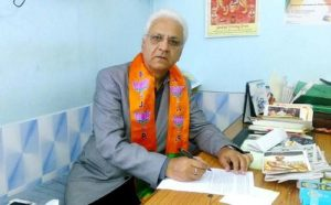 Sumit Kaul's father - Vice-president of BJP Jammu & Kashmir