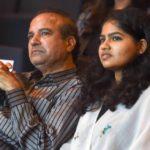 Suresh Wadkar with his daughter Ananya Wadkar