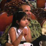 Suresh Wadkar with his daughter Jiya Wadkar