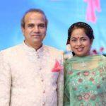 Suresh Wadkar with his wife Padma Wadkar