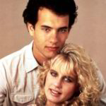 Tom Hanks with his ex-wife Samantha Lewes