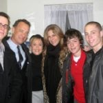 Tom Hanks' Family (From Left to Right) Colin, Tom, Elizabeth, Rita, Chester and Truman