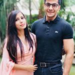 Udit Kapur with his girlfriend