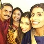 Upasana Salunkhe with her family