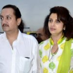 Varsha Usgaonkar With Her Husband Ajay Shankar