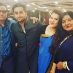 Vibha Chibber With Her Family