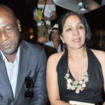 Viv Richards and Neena Gupta