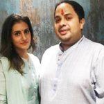 Additi Gupta with Kabir Chopra
