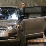 Alia Bhatt With Her Range Rover