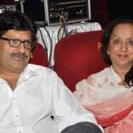 Anil Dhawan with his wife