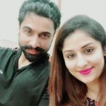 Ankita Mayank Sharma with her husband