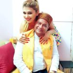 Jasleen Matharu with Anup Jalota