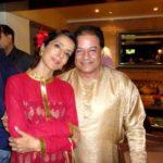 Anup Jalota with Medha Gujral Jalota