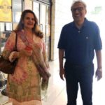 Arif Alvi With His Wife