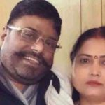 Asha Paswan with her Husband