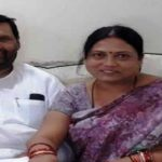 Asha Paswan with her father Ram Vilas Paswan