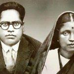 B. R. Ambedkar with his first wife Ramabai Ambedkar