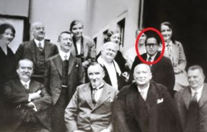 B. R. Ambedkar with his professors and friends from the London School of Economics and Political Science