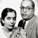 B. R. Ambedkar with his second wife Savita