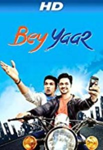 Pratik Gandhi's movie Bey Yaar's Poster