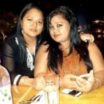 Bharti Singh with her sister Pinky Singh