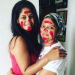Deepali Muchrikar with her sister