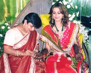 Gayatri Joshi Wedding Pic