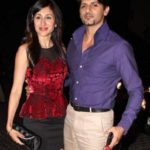 Karanvir Bohra with his wife Teejay Sidhu