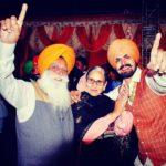 Karanvir Deol with his parents