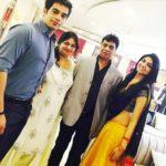 Kriti Verma with her family