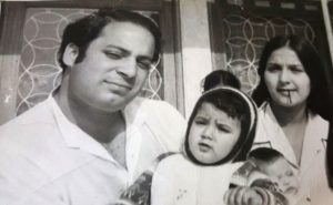 Kulsoom Nawaz in Her Younger Days