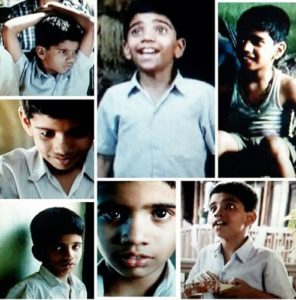 Madan Deodhar as a child artist