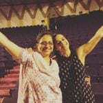 Meher Mistry with her Mother