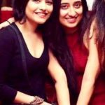 Neha Kargeti with her sister Rajni Kargeti