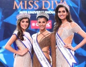 Nehal Chudasama crowned as the Miss Diva Miss Universe 2018