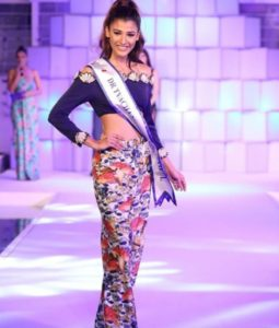 Nehal Chudasama won the subtitle, Miss Body Beautiful