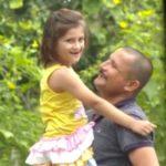 Nirmal Singh with his daughter
