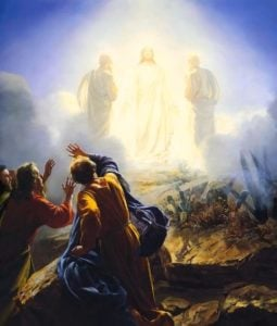 Painting of Transfiguration of Jesus