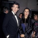 Pierce Brosnan and Barbara Orbison