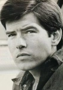 Pierce Brosnan as a young