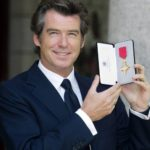 Pierce Brosnan was awarded OBE
