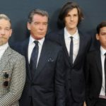 Pierce Brosnan with his sons