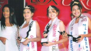 Poonam Kaur in Miss Andhra Beauty Contest