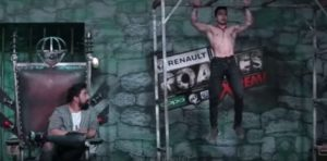 Pratik Sehajpal during auditions in MTV Roadies Xtreme