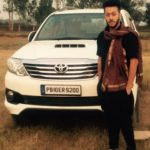 Pukhraj Bhalla with his car