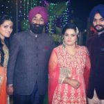 Rabby Tiwana with his parents and sister