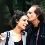 Raghu Rai with his daughter Avani Rai