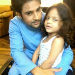 Rajeev Khandelwal with his daughter