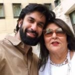 Rajeev Sen With His Mother